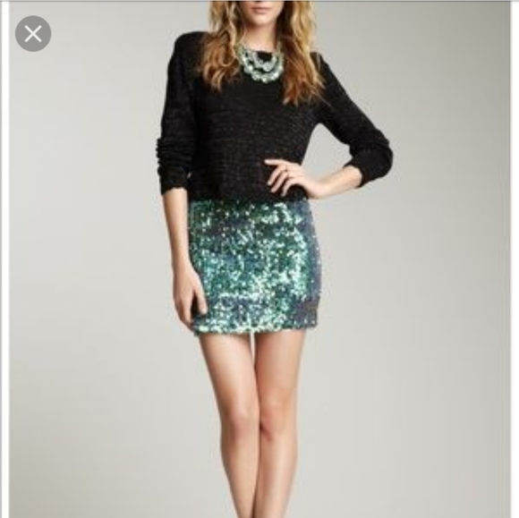 MINKPINK Dresses & Skirts - MINKPINK sequin Mini skirt